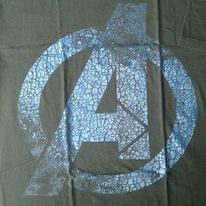 Marvel Avengers men's graphic t shirt  Logo